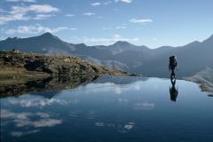Un petit lac dans le massif des Ecrins